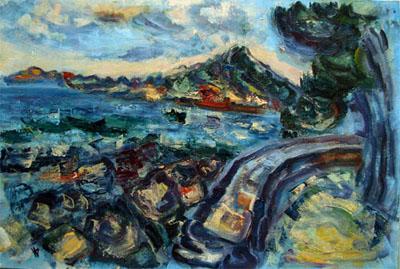 Landscape from Croatia . Iva Vladimirova